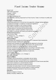 Insurance Broker Resume Template Sample Stock Broker Job Description Resume Templates