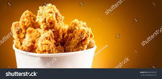 fried chicken wings legs stock photo 604255295