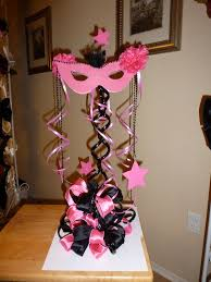 centerpieces for quinceaneras masquerade table decorations image library
