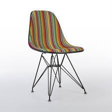 Eames Eiffel Armchair Vintage Eames Eiffel Chair With Miller Stripe Alexander Girard