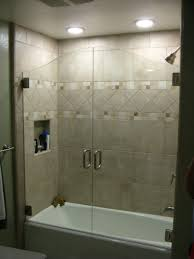 bathtubs awesome tub shower door frame 141 kohler revel in w