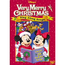 sing along songs very merry christmas songs dvd shopdisney