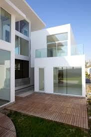 modern glass house contemporary residence bahrain house architected by moriq