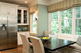 window treatments for kitchens dining room window treatment home decorating ideas safety door