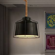 Retro Hanging Light Fixtures Industrial Pendant Lights Fixture American Country Retro Hanging