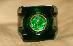 green lantern wedding ring green lantern ring replica
