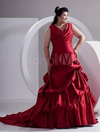 plus size red wedding dresses plus size dresses for wedding