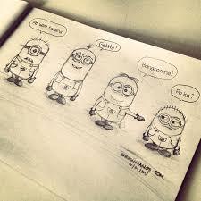 pencil drawing minions singapore designer website design