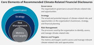 report recommendations of the task on climate related
