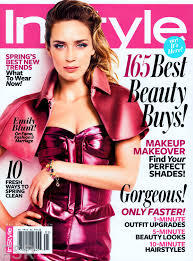 emily blunt covers instyle magazine s may 2013 issue camara oscura