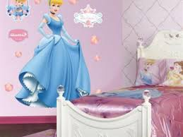Car Bed For Girls by Kids Room Disney Kid Bedroom Themes With Cinderella Wallpaper
