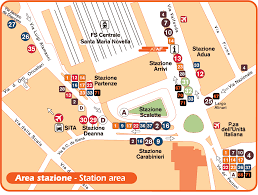 Map Of Siena Italy by Travel Information