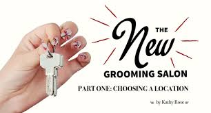 the new grooming salon part one choosing a location groomer to