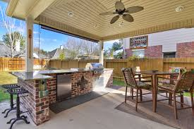 Patio Covers Houston Texas Allied Outdoor Solutions Outdoor Kitchen And Patio Cover Allied