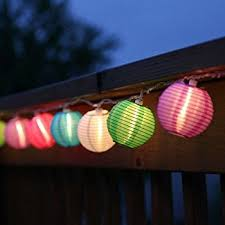 10 ft multicolor outdoor string light 10 mini