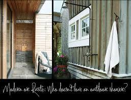 Outdoor Shower Room - outdoor shower enclosure ideas