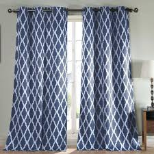 White Curtains With Blue Trim Navy White Curtains Large Size Of Coffee Curtains With Navy Blue