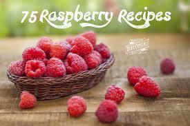 75 rich red raspberry recipes sweetalk
