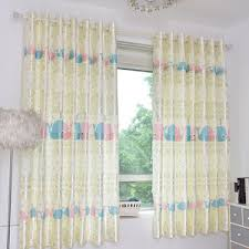 Window Curtains Clearance Yellow Floral Polyester Country Shabby Chic Custom Waverly Curtains