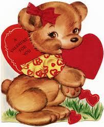 valentines bears free vintage image design shop