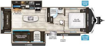 Open Range Travel Trailer Floor Plans by Imagine Travel Trailer 2950rl Grand Design Rv