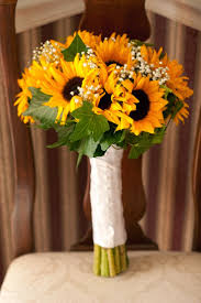 sunflower bouquets silk sunflower wedding bouquets sunflower wedding bouquets to
