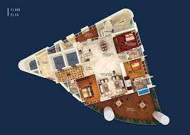 Antilla Floor Plan Altimo Residential Apartment By Rohan Lifescapes At Altamount