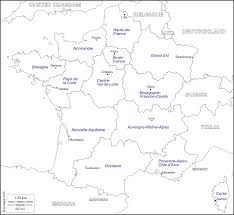 France Regions Map by France Free Map Free Blank Map Free Outline Map Free Base Map