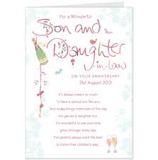 wedding card sayings for daughter