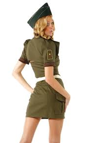 Halloween Army Costumes Womens Halloween Dress Costume Women Cosplay Special Task Agent