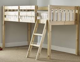Ft  Small Single Solid Pine Cabin Bed - Small single bunk beds