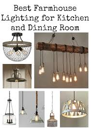 Farmhouse Ceiling Light Fixtures Best Farmhouse Lighting Kitchen And Dining Room Ridge Vintage