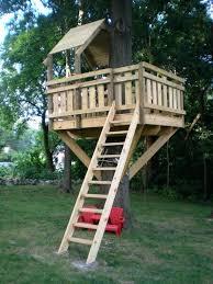 Backyard Fort Ideas Tree Fort Ideas Enchantinglyemily