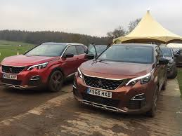 nearly new peugeot enjoyed experiencing the brand new peugeot 3008 on and off road on