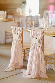 50 creative wedding chair decor with fabric and ribbons wedding