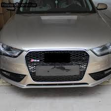 audi rs4 grill for audi a4 rs4 style chrome frame front bumper grill grille 2013
