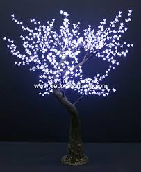 artificial lighted trees