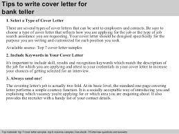 bank teller skills resume tips write cover letter for bank teller