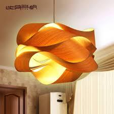 Wood Veneer Pendant Light Wood Veneer Pendant Light Home Design