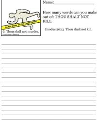 quiz worksheet a sentence negative make make a