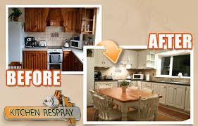 respray kitchen cabinets a kitchen respray is a really good option resurface my kitchen