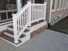 Front Steps Design Ideas Chic Front Porch Design Including Wood Porch Floor And Stone Paver