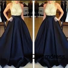 dark blue sequins junoesque prom dress ball gown dress