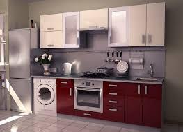 kitchen room 2017 extraordinary small red white modular kitchen