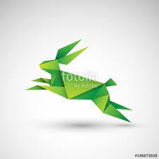 Origami Illustrator - kr祿lik origami wektor stock image and royalty free vector files