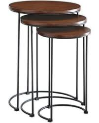 3 piece nesting tables amazing deal on carolina cottage townsley 3 piece nesting table set