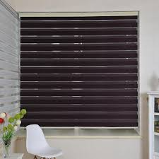 Vertical Blinds For Living Room Window 2017 Wholesale Top Finel 2016 Custom Size High Tulle Zebra Blinds