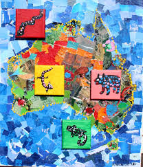 creating and educating collaborative aboriginal art map