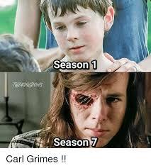 Meme Carl - season 1 season 7 carl grimes meme on me me