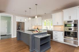 Contrasting Kitchen Cabinets Custom Bathroom Vanities And Kitchen Cabinets Gallery Walpole